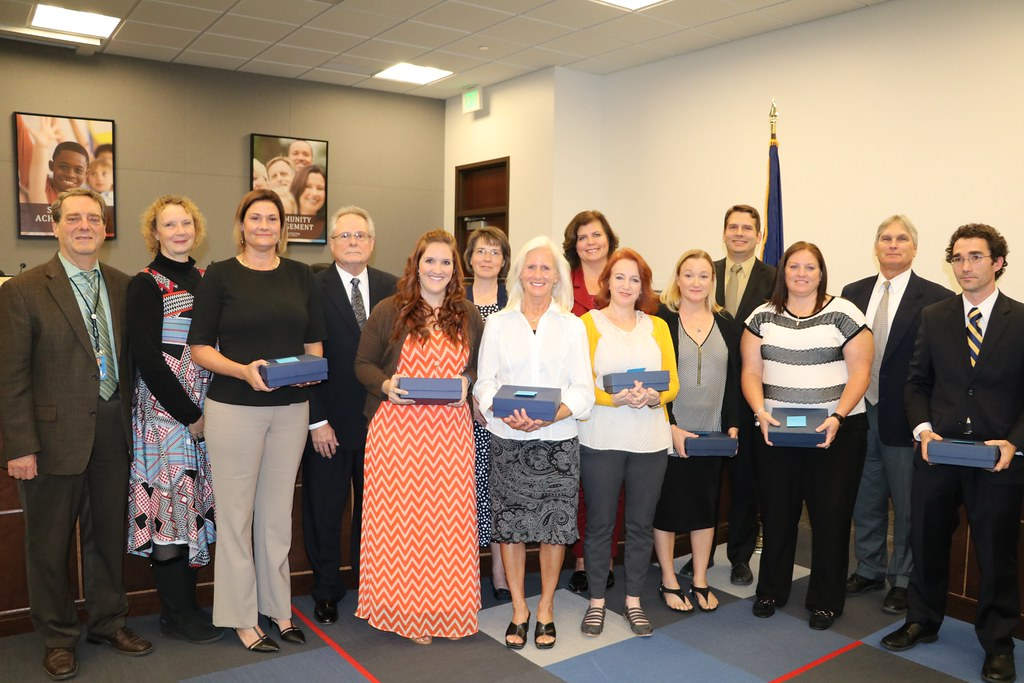 9366a4cce8 Canyons Board of Education Honors Union Middle Staff