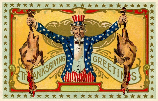 Thanksgiving Greetings from Uncle Sam