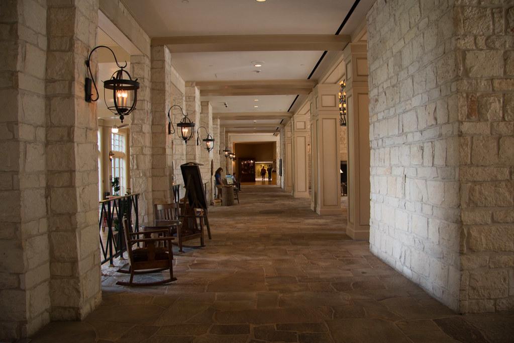 Hyatt Hill Country Resort and Spa Lobby