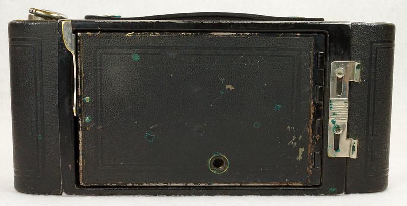 RD14615 Vintage Kodak Hawkeye No 2A Model B Folding Cartridge Camera with Leather Carry Case DSC06532