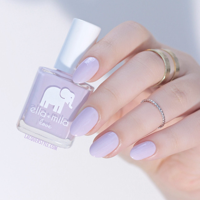 Ella + Mila Lilac Luster - Love Collection