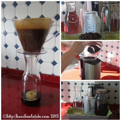 ©Cold brew coffee - kalt gebrühter Kaffee Collage