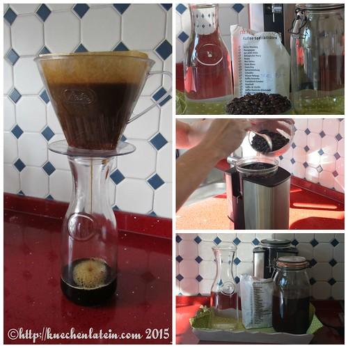 ©Cold brew coffee - kalt gebrühter Kaffee Collage