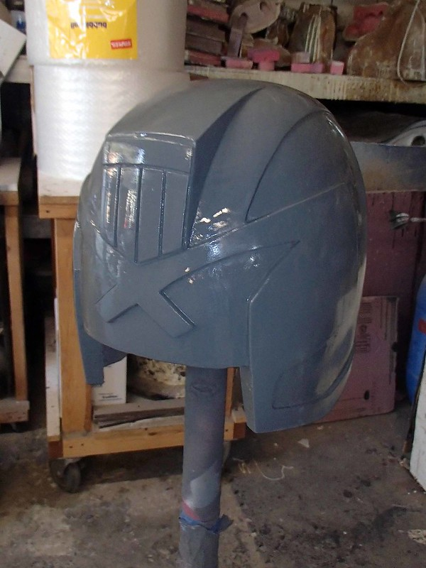 DREDD helmet smooth