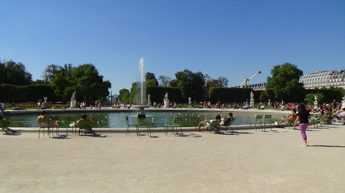 Paris Jardin des Tuileries Aug 15 4