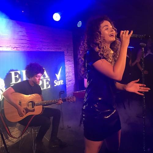 Ella Eyre Sure Movement gig