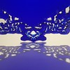 Laser cut Islamic art illumination border