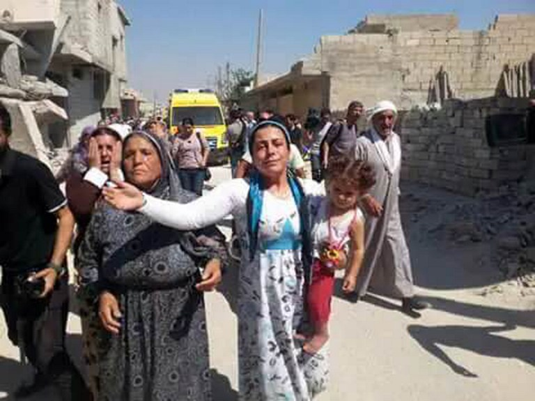 TURKEY-EUROPE-MIGRANTS-SYRIA-CONFLICT-KOBANE-FUNERAL