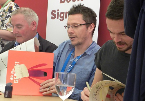 Chris Riddell, Chris Haughton and Oliver Jeffers