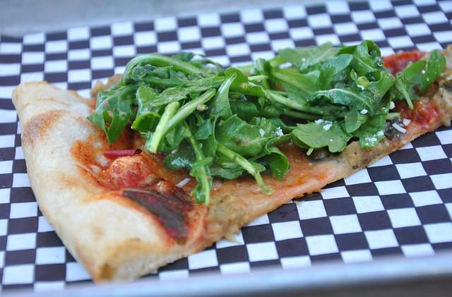 Veggie on Veggie Pizza
