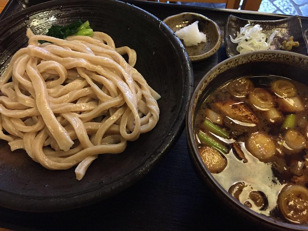 武蔵野うどん とこ井_鴨汁