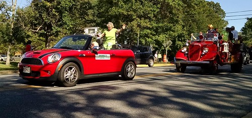 At the Greenbelt Labor Day Parade.