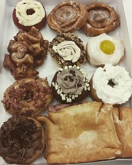 Have you EVER seen a better selection of doughnuts? Lee-Smith knows how to fuel people at an #altfuel workshop!! #propane #CNG