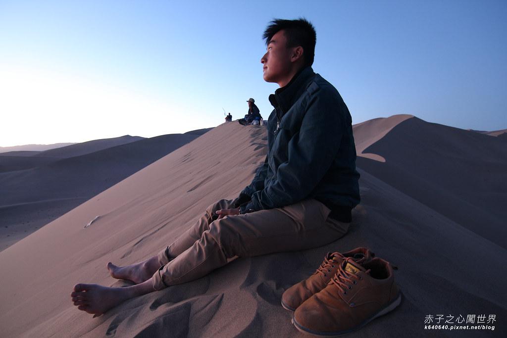 絲路-敦煌鳴沙山月牙泉-沙漠露營31