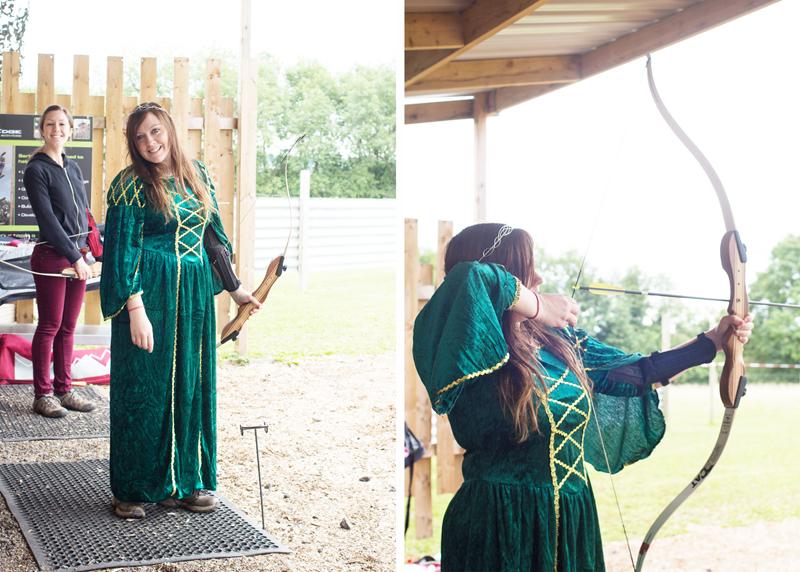4 chrissy archery collage