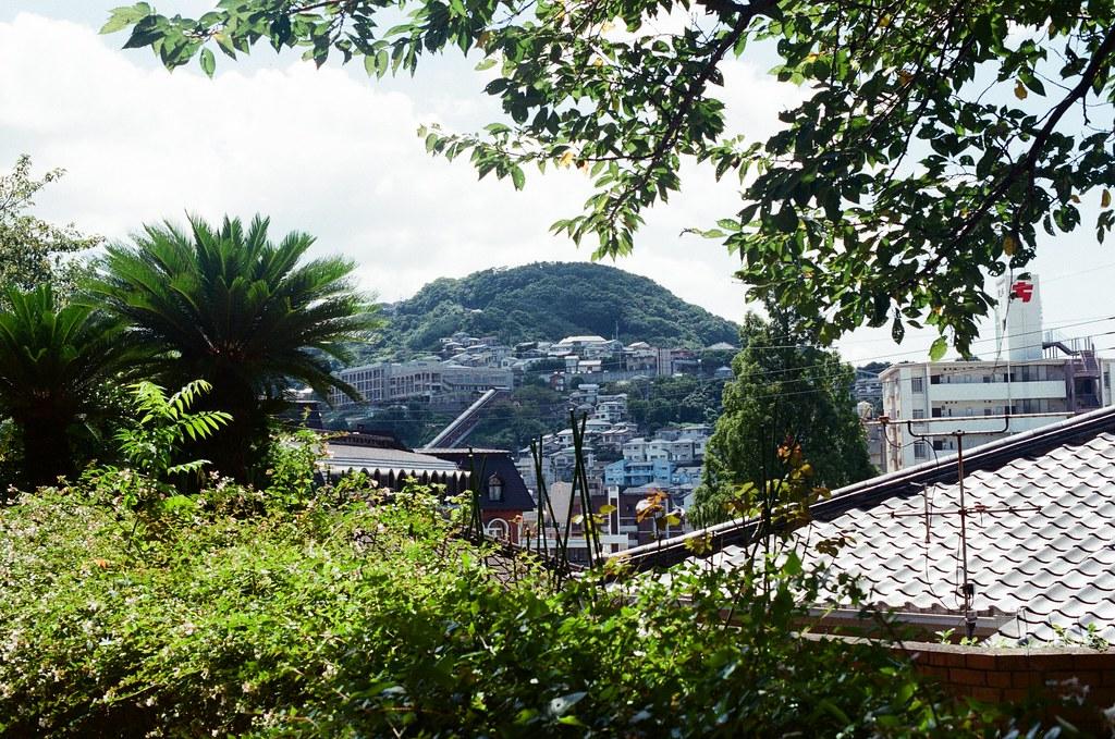 荷蘭坂 長崎 Nagasaki 2015/09/08 兩旁的景色  Nikon FM2 / 50mm Kodak UltraMax ISO400 Photo by Toomore