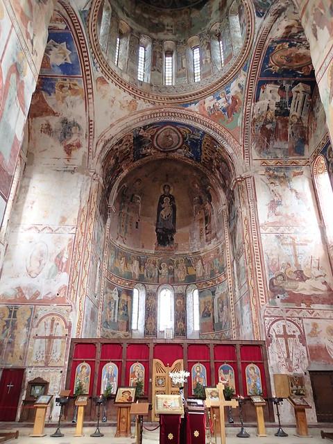 大聖堂の祭壇部(東側)