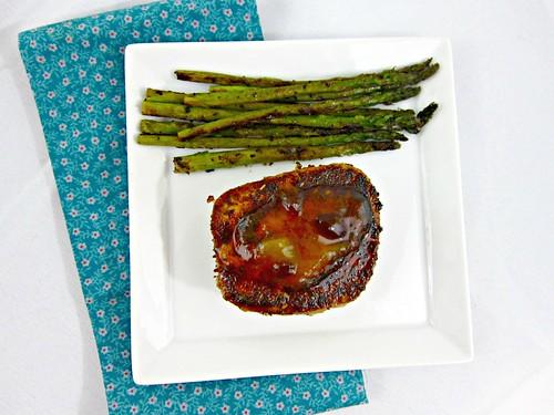 Blackened Tuna Steaks with Mango Chutney