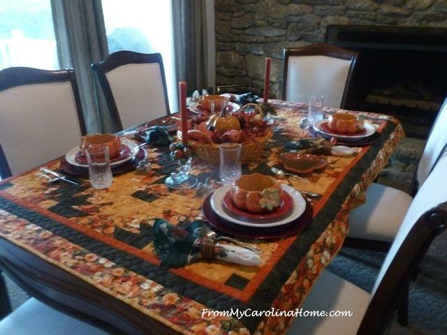 Autumn Tablescape 1