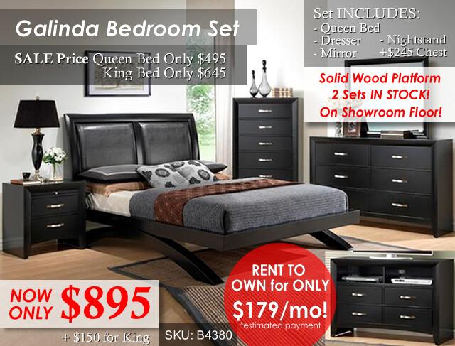 Galinda Bed Set NEW in stock