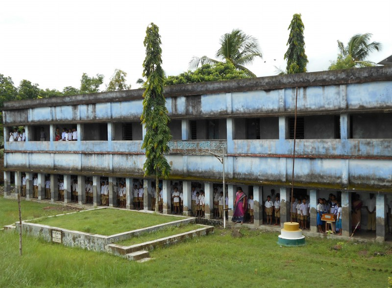 Doyapur P.C Sen High School - Sundarban, India