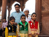 A beautiful family at the Jama Masjid by catherine_torbey