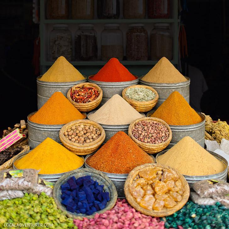 Medina Marrakech Market / Spice Souk