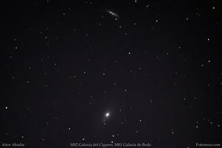 M82, M81