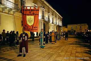 Casamassima- il corteo casamassimese applaudito a Melfi-Visita a Venosa (4)
