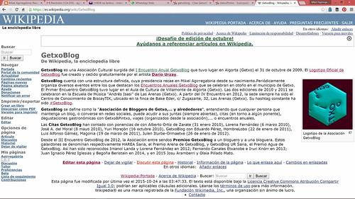 GetxoBlog en Wikipedia
