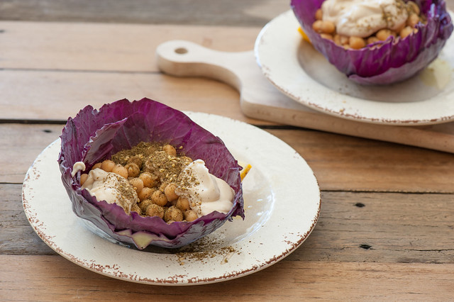 Chickpea & Za'atar Cabbage Wraps