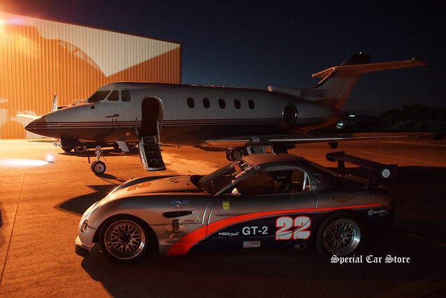 Panoz GT-2 No 22 at Desert Concorso evening 2015