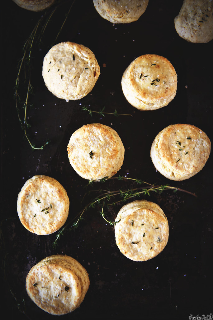 Herbed Thyme and Lemon Biscuits
