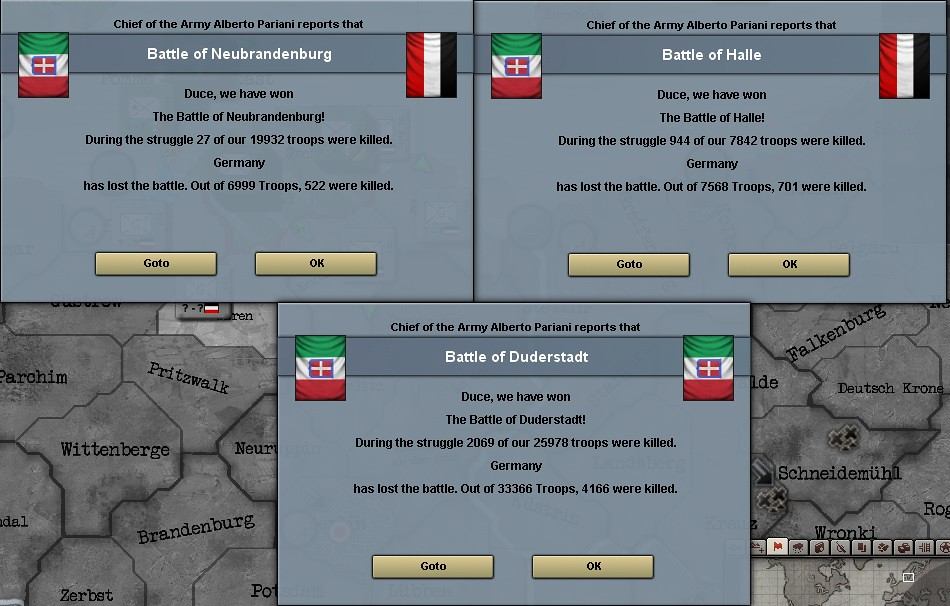 Giovanni Messe's Glory of Rome: An Independent Italy HOI3