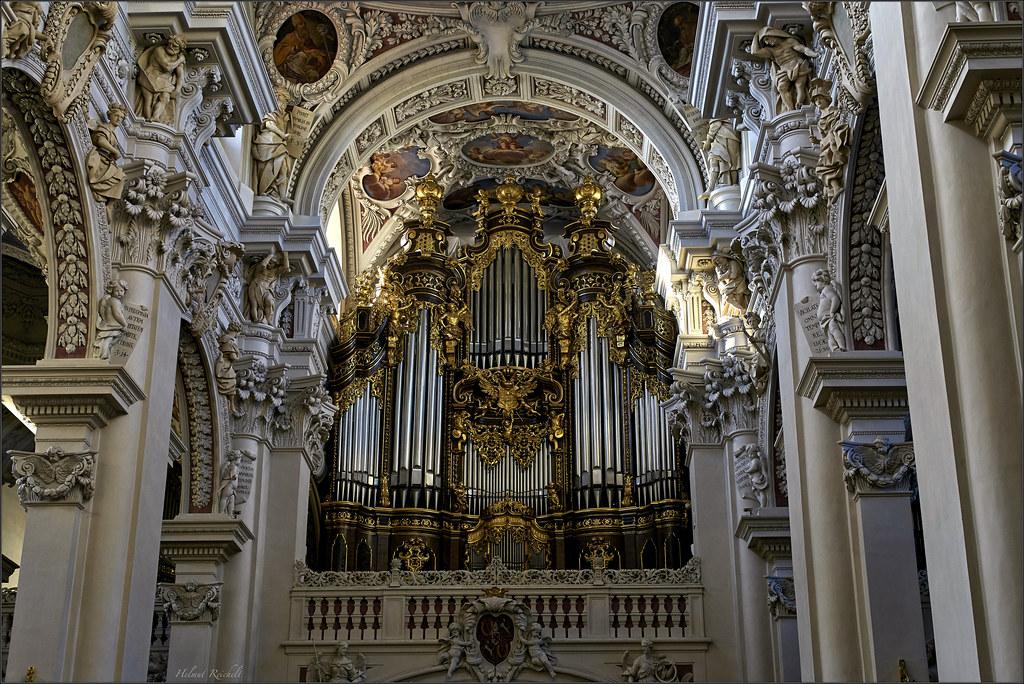 Die Größte Domorgel Der Welt Passau Dom Die Heutigen Fün Flickr