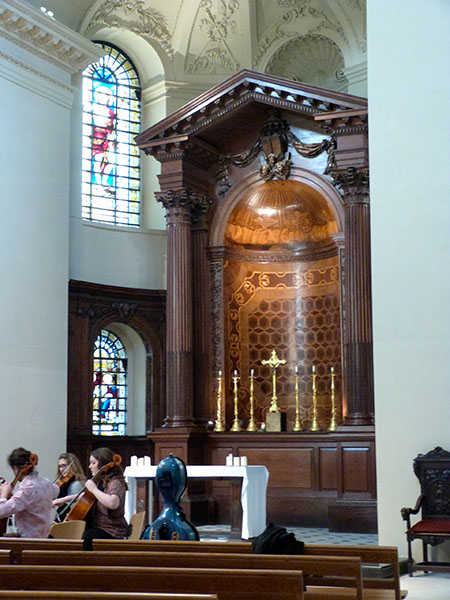 inside saint george