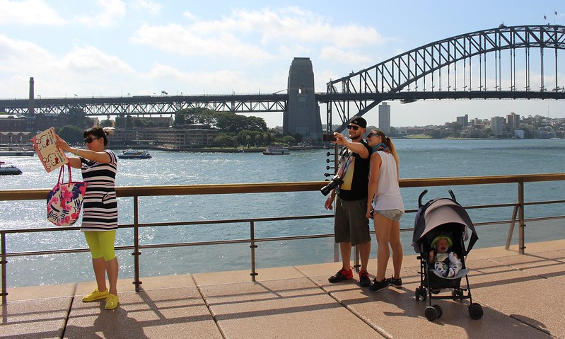 Selfies by Sydney Harbour