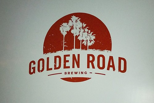 Golden Road Brewing - wall graphic