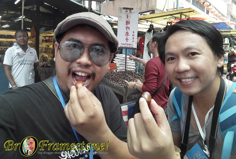 #MalaysiaWonders with Thailand Blogger - Boy Sadoodta at Petaling Street