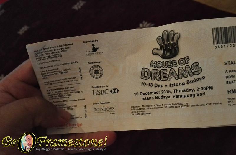 Hi-5 House of Dreams Istana Budaya