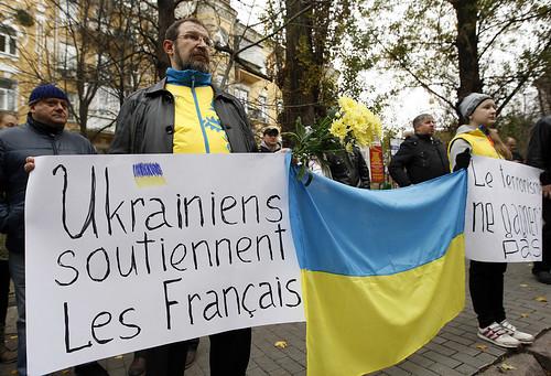Теракти в Парижі: відлуння для України