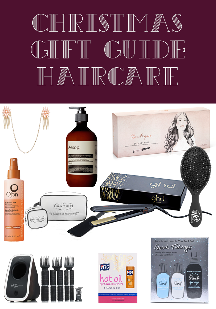 Christmas Gift Guide: Haircare