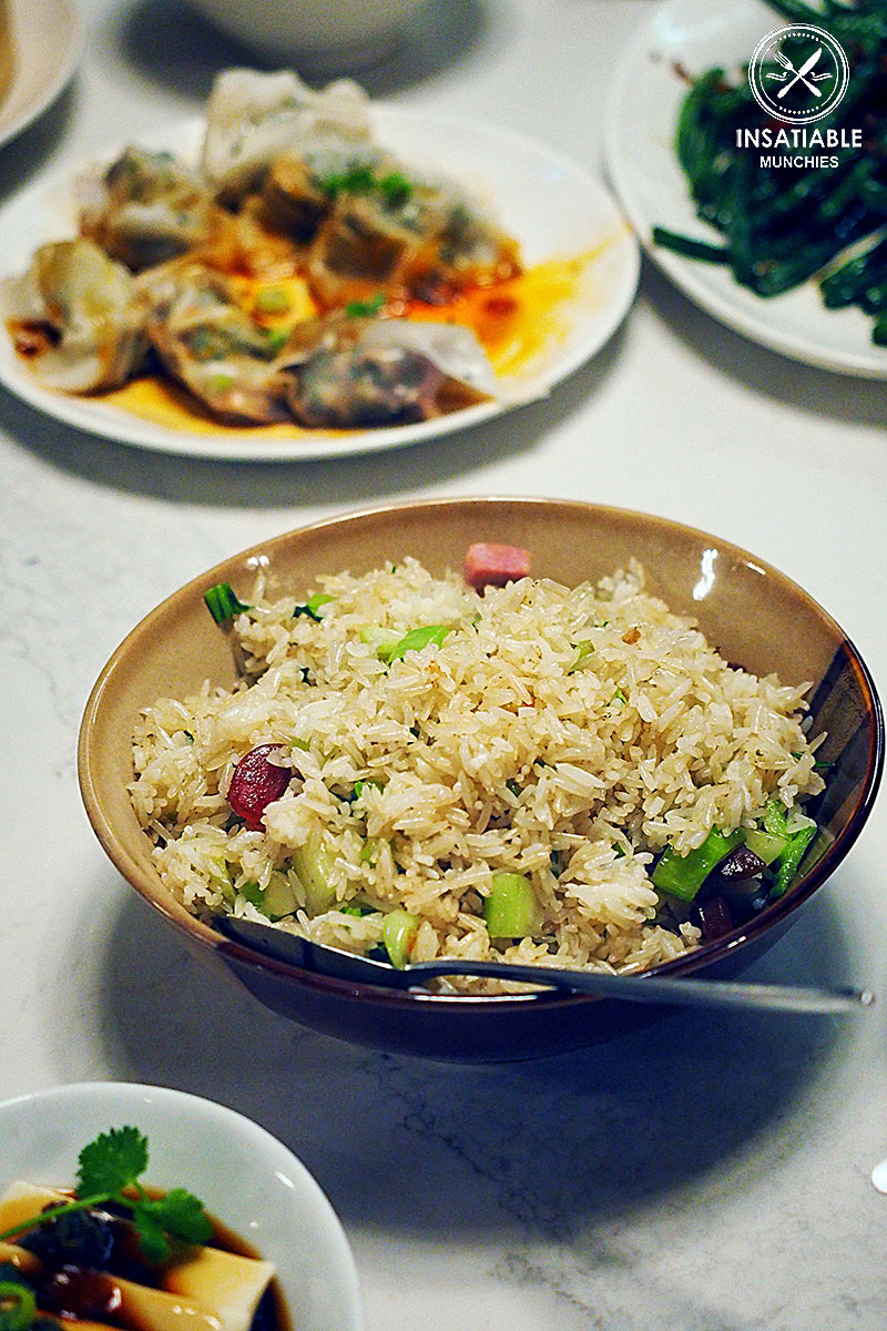 Salty Pork with Green Vegetable Fried Rice, Taste of Shanghai, World Square. Sydney Food Blog Review