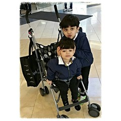AHMAD &  ALI ALQALLAF @citycentrebahrain #dec2015