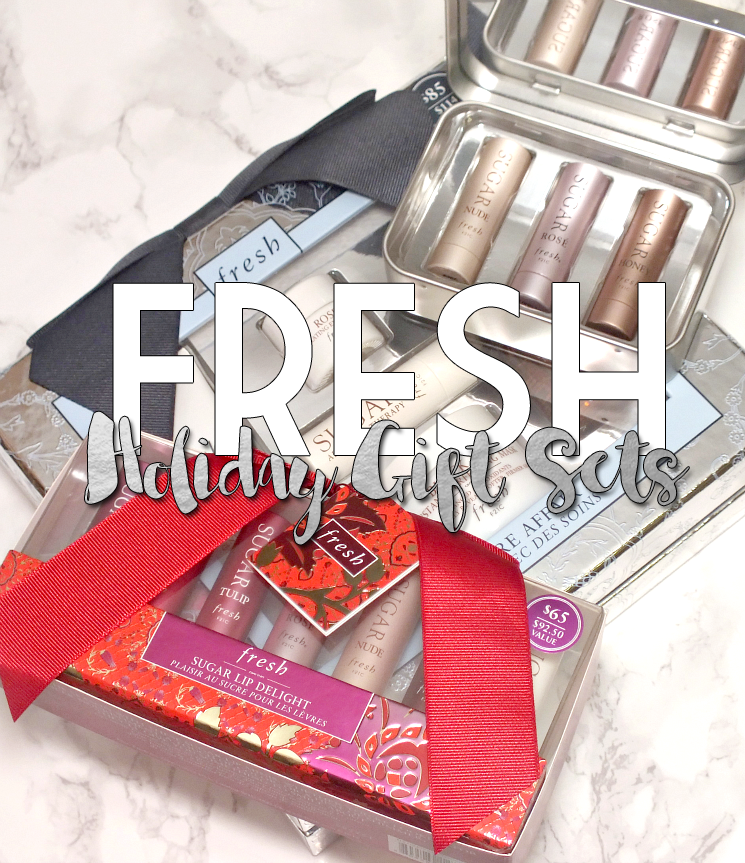 Fresh Holiday Gift Sets 2015
