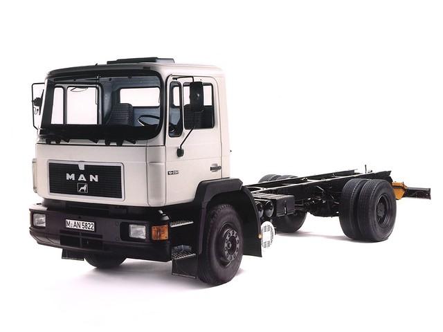 Тяжелый тягач MAN F90. 1986 – 1994 годы