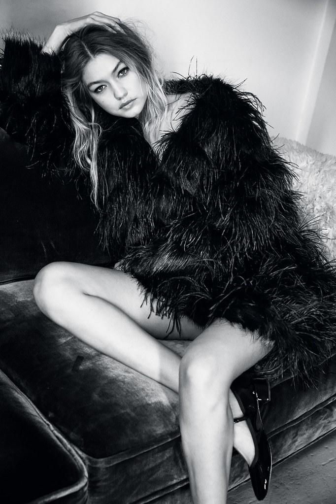 Джиджи Хадид — Фотосессия для «Vogue» UK 2015 – 6