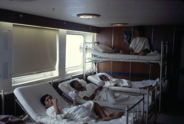 1971 Hospital Ship Helgoland