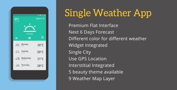 Codecanyon Single Weather