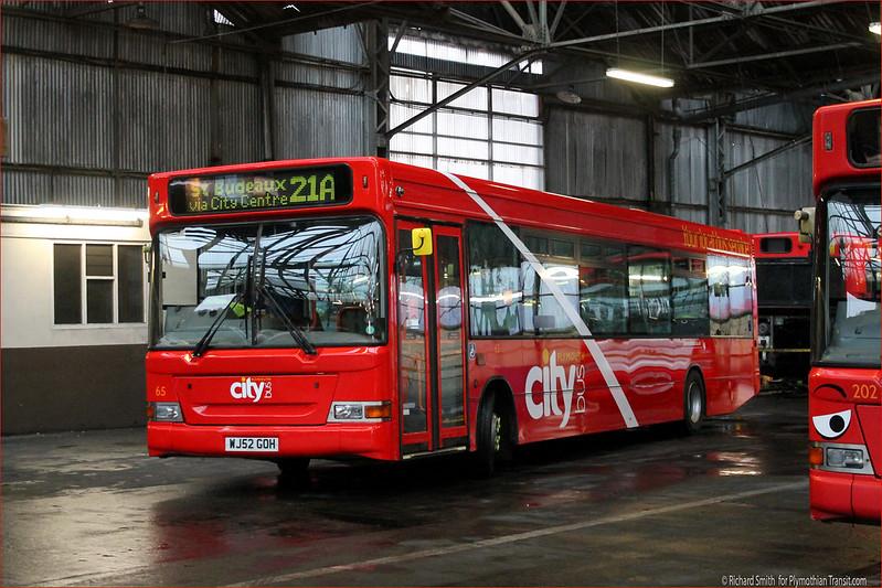 Plymouth Citybus 065 WJ52GOH